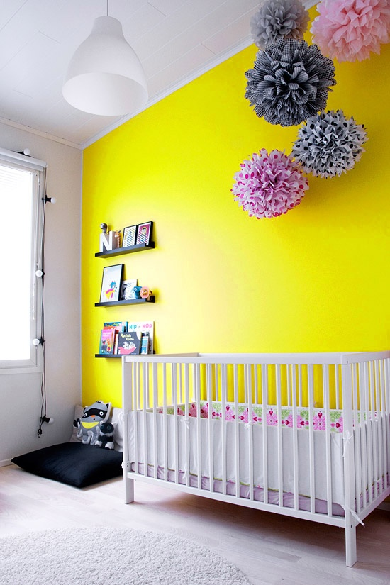 Stunning Chambre Jaune Fluo Contemporary - Design Trends 2017 ...