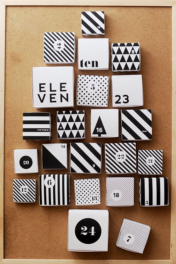 CALENDRIER AVENT DIY 13